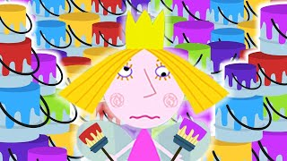 Ben and Holly's Little Kingdom Full Episodes | Painting Panic | Kids Videos