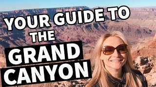 One Day in Grand Canyon National Park!   Grand Canyon Travel Vlog & Sightseeing 🌄