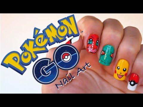 Decoración De Uñas Pokémon Go Naila Londoño