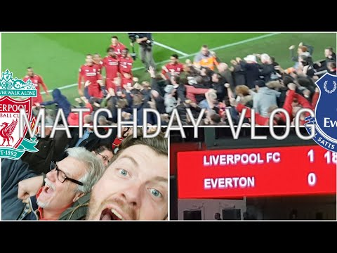 ORIGI WINS THE DERBY! LIVERPOOL 1-0 EVERTON | MATCHDAY VLOG