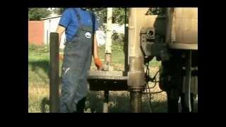 Бурение скважины на воду(Бурение скважины на воду самоходной буровой установкой. Днепропетровск, Набережная., 2012-12-12T20:34:48.000Z)