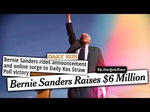 Bernie Sanders' 2020 Launch Sent SHOCKWAVES Through the Establishment