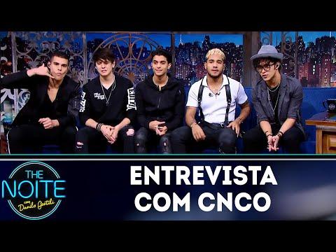 Entrevista com CNCO | The Noite (21/05/18)