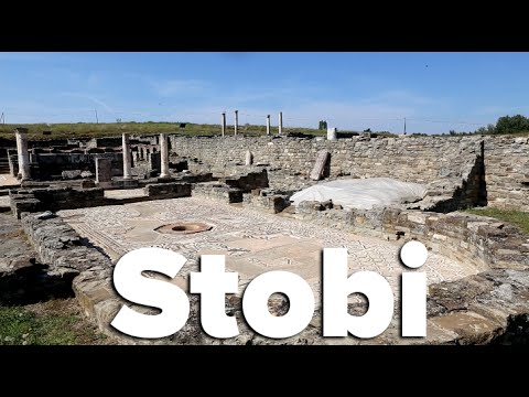 Ancient Town of Stobi, Macedonia