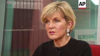 Australian FM Bishop: No need for military action in NKorea