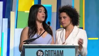 BROAD CITY's Abbi Jacobson and Ilana Glazer open up the 25th Gotham Awards