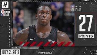 Kendrick Nunn Full Highlights Heat vs Kings (2019.07.02) Summer League - 27 Pts!