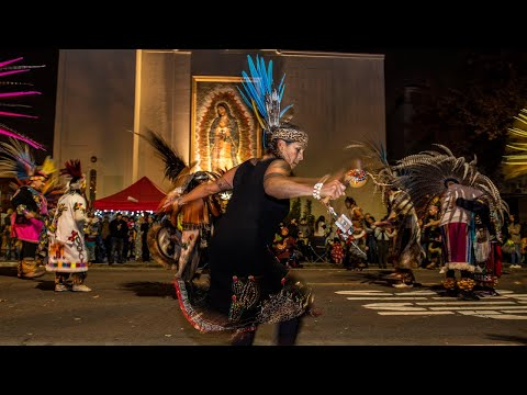 Watch these Aztec dancers honor Our Lady of Guadalupe in Sacramento