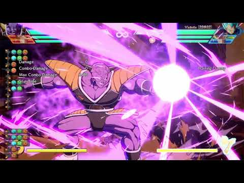 Fighterz Ginyu: Milky Cannon Level 3 DHC Glitch (Now Patched Out)
