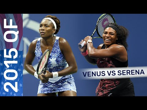 Venus Williams Vs Serena Williams In A Three-set Thriller! | US Open 2015 Quarterfinal