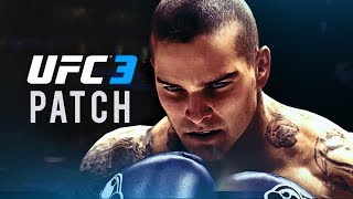 EA Sports UFC 3 - NEW PATCH Info! ft. Isaac Frost!