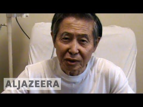Jailed Peru's ex-president Alberto Fujimori pardoned on health grounds 🇵🇪