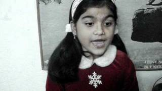 """AAO TUMHE CHAND PE LE JAYE"" :-SUNG BY ***SRISHTI *ANANYA*** 8&1/2 YEARS OLD"