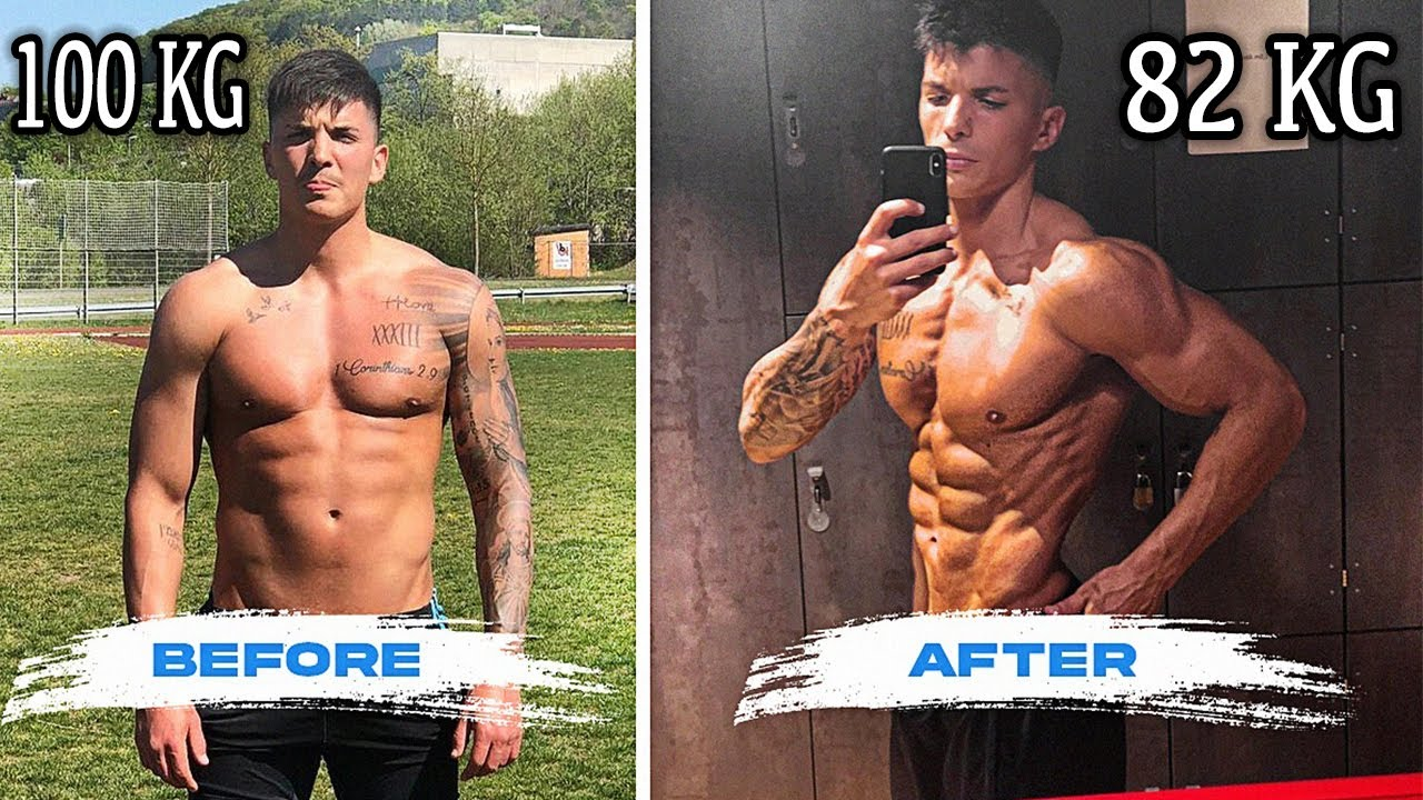 Motivational 6 Month Body Transformation - Fat to Shredded