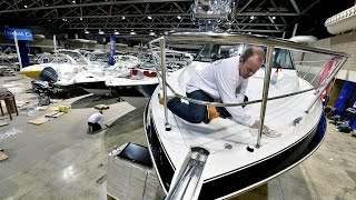 Preparations For Kc Boat And Sportshow At Bartle Hall