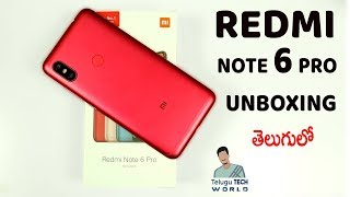 Xiaomi Redmi Note 6 Pro Smartphone UNBOXING & Review In 2018