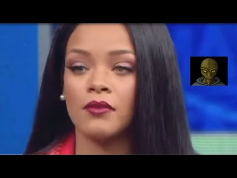 Rihanna is a reptilian alien!! Proof in this video. (Watch the eyes)