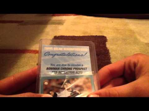 Holy Mojo Strikes Again 2011 Bowman Baseball Box Red auto /5