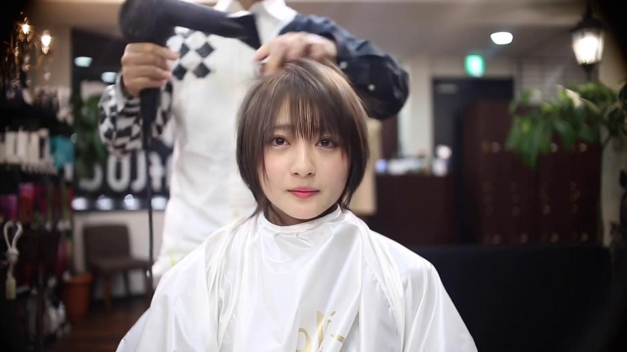 【ショートヘア】こばしり ウェットカット✂︎
