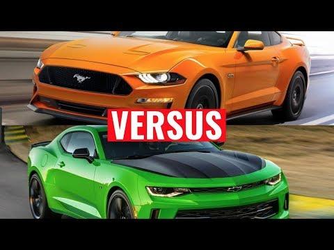 2018 Mustang GT 1/4 Mile Comparison 2016 Camaro SS - Very Impressive.