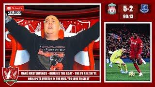 ORIGI PUTS EVERTON IN THE MUD | Liverpool 5-2 Everton Match Reaction