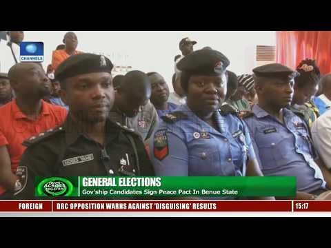 Gov'ship Candidates Task INEC, Security Agencies To Be Non-Partisan