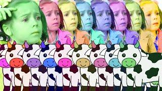 Moo Cow Mismatch | Uh-oh! Wrong Animal! | Learn Animal Sounds