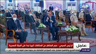 الرئيس السيسي: السيارات الجديدة لن يتم ترخيصها إلا بالغاز