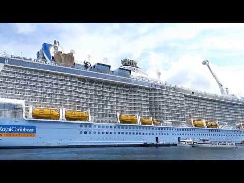 Ovation of the Seas Tendering in Phuket, Thailand (To the Island