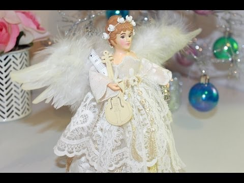 Christmas Tree Angel + Start to Finish Tutorial