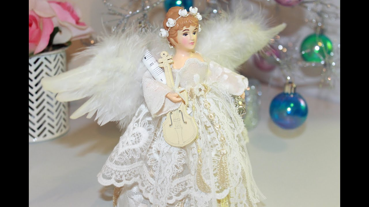 Christmas Tree Angel + Start to Finish Tutorial - YouTube