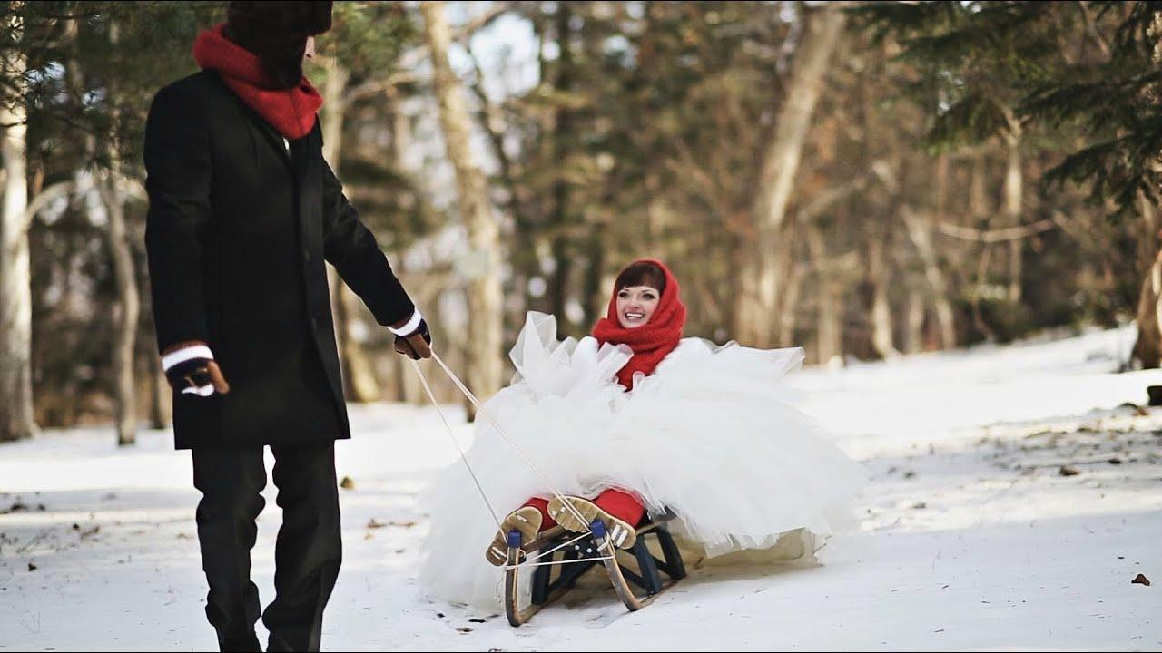 И зимой можно снять свадьбу красиво :) Владимир Подосинников