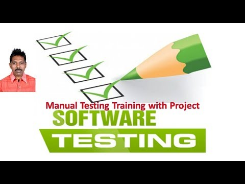Manual Testing Training With Project|G C Reddy|