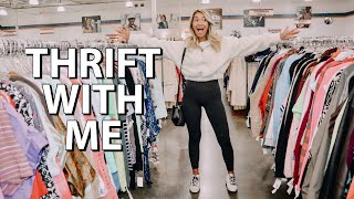 come thrifting with me