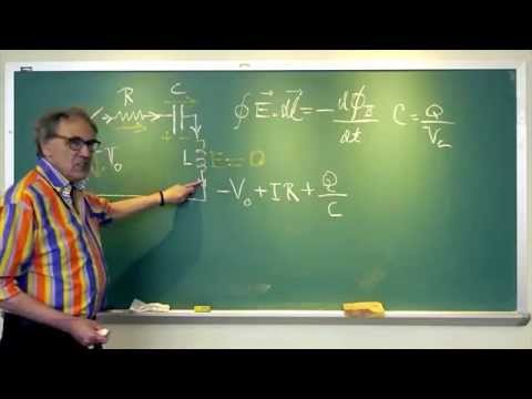 Kirchhoff´s rule is for the birds; Walter Lewin on circuits in changing magnetic fields