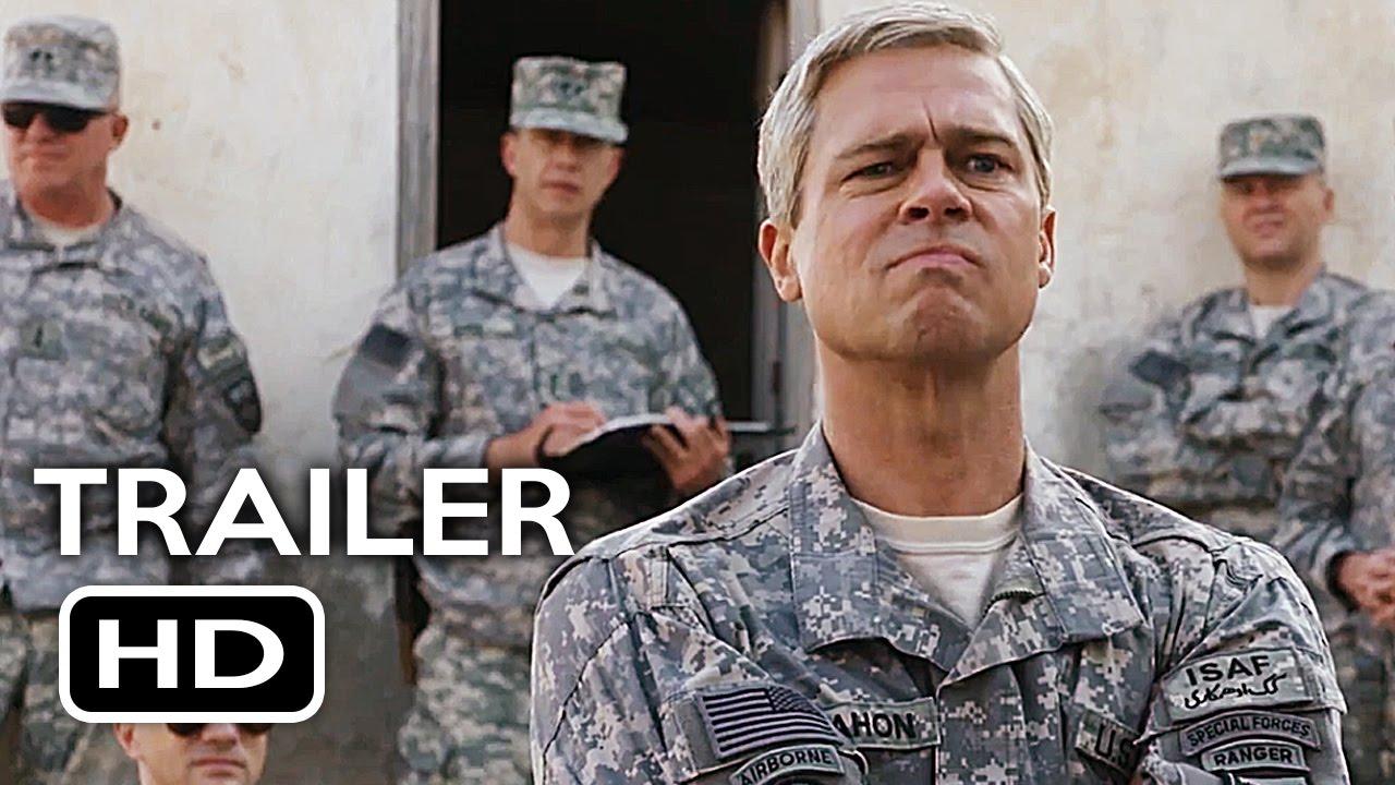 War Machine Official Trailer #3 (2017) Brad Pitt Netfli... | Doovi