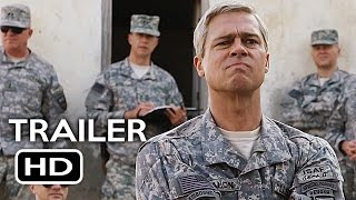 War Machine Official Trailer #3 (2017) Brad Pitt Netflix Comedy Movie HD