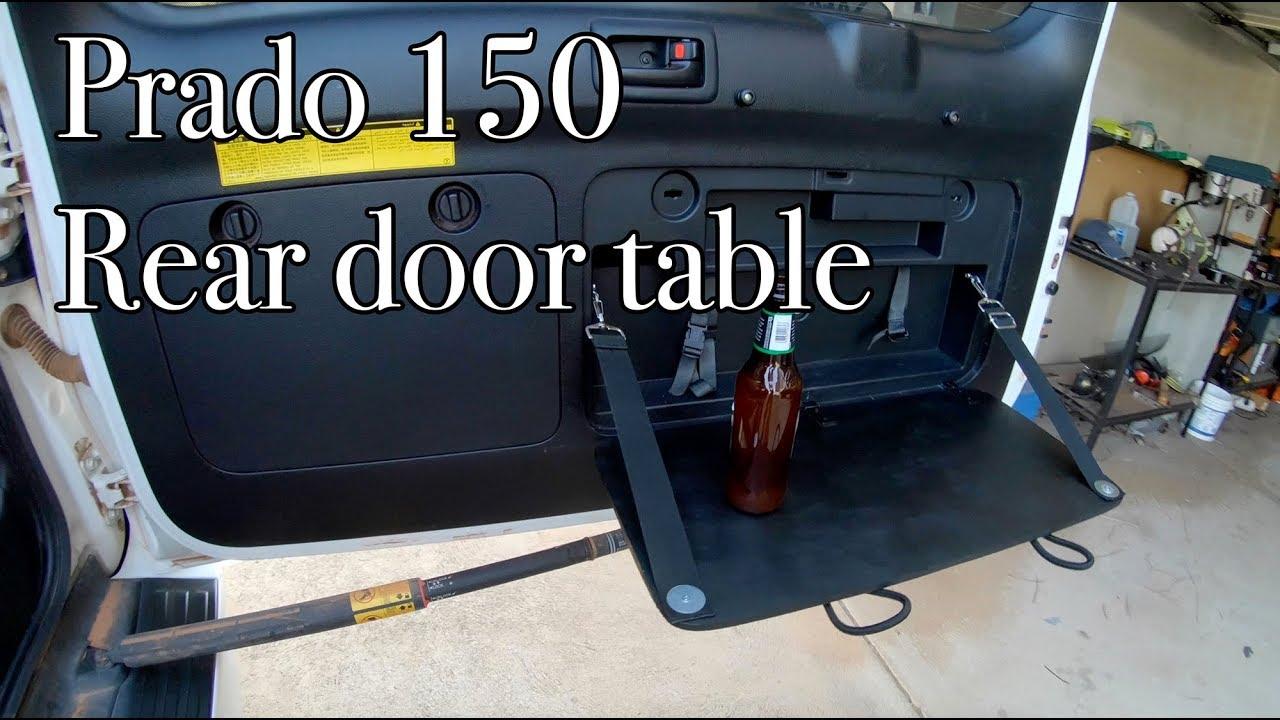Toyota Prado 150 Rear Door Table