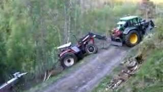 Traktor reddning