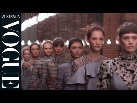 Live At New York Fashion Week: Zimmermann Spring/summer '16