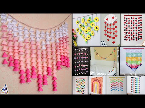 11-best-paper-wall-hanging/room-decor-making-!!!-diy-craft-ideas