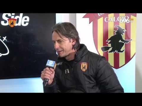 #BeneventoPisa: mister Inzaghi ai microfoni di Ottochannel
