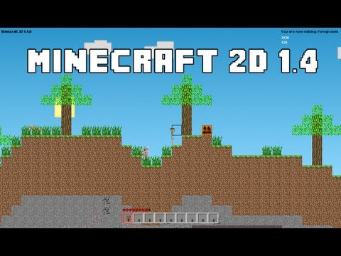Minecraft 2d Update 1 4 Commands Animations New Ui And More Youtube