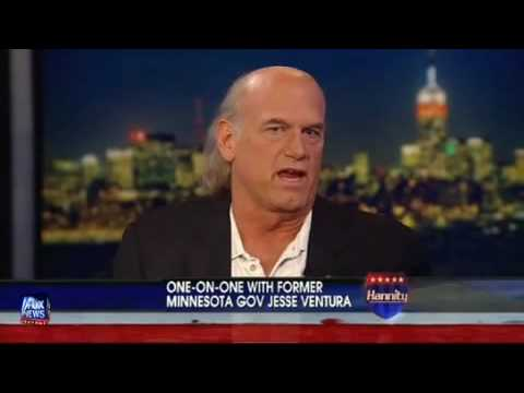 Shawn Hannity gets owned by Jesse Ventura on Shawn's own show.