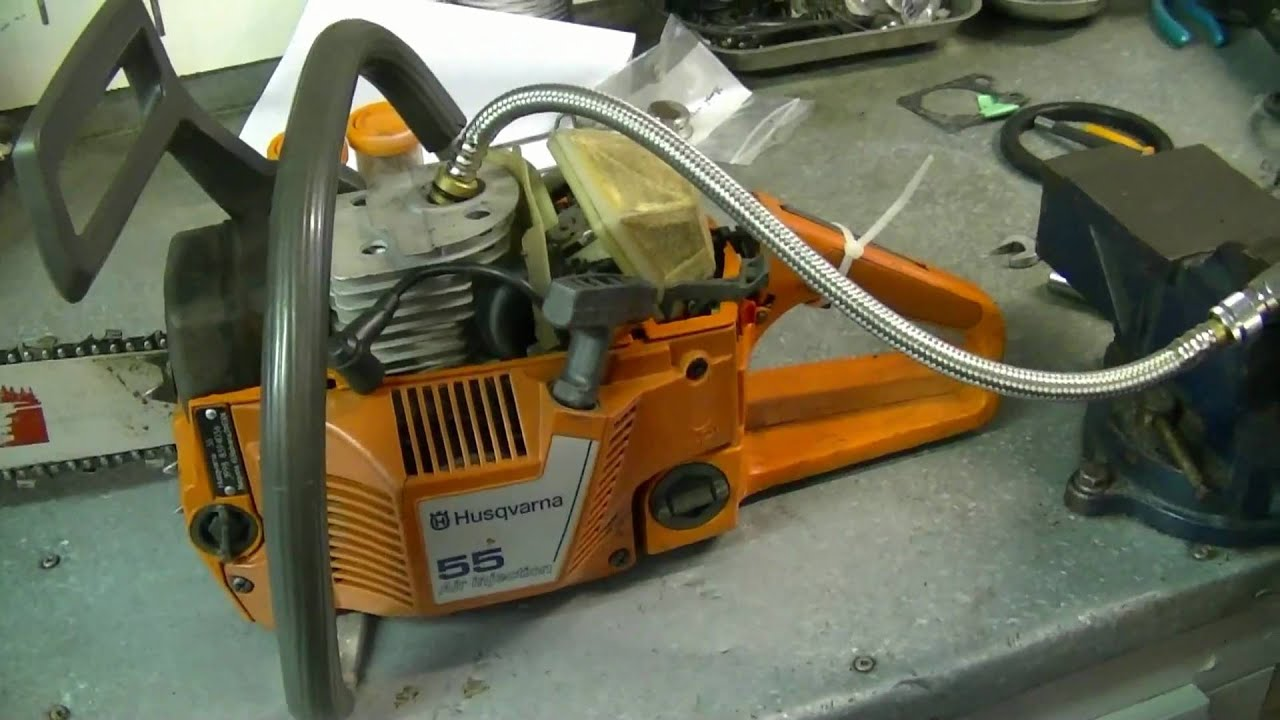 medium resolution of compression test of husqvarna 55 chainsaw you