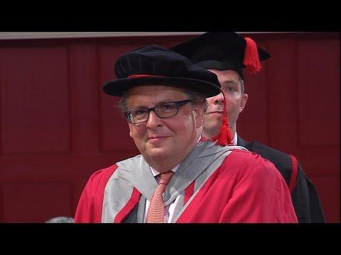 Lars Tharp - Honorary Degree - University of Leicester