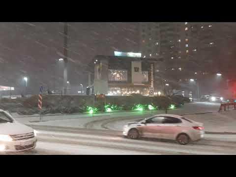Первый снег в Волгограде 03.12.2019 продолжение!