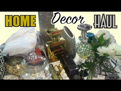home decor haul z gallerie homegoods target ross michaels pink orchid makeup - Ross Home Decor