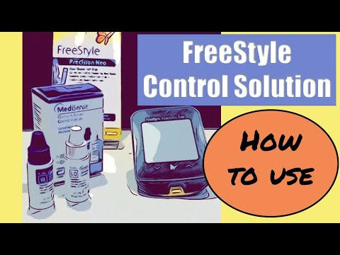 FreeStyle Control Solution How To Use