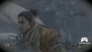 Sekiro (Tenchu 2019) - Giant Snake Gameplay - Dedicated to my friend raffster1977